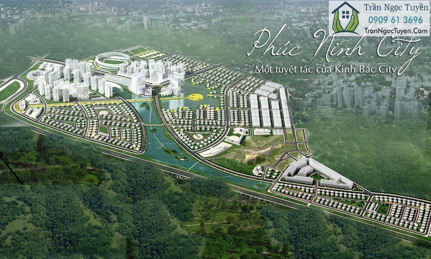Khu đô thị Phúc Ninh Bắc Ninh - Phối cảnh