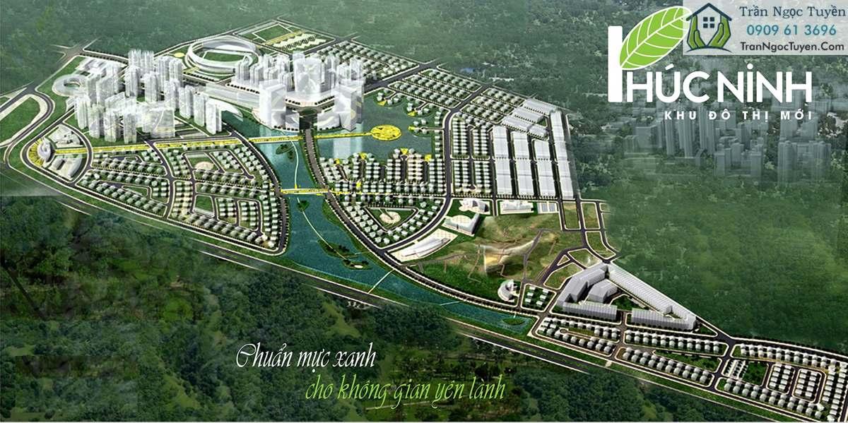 Phối cảnh khu đô thị mới Phúc Ninh TP Bắc Ninh