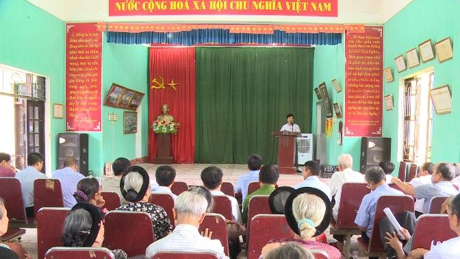 Hội nghị công tác thu hồi đất khu đô thị mới Phúc Ninh