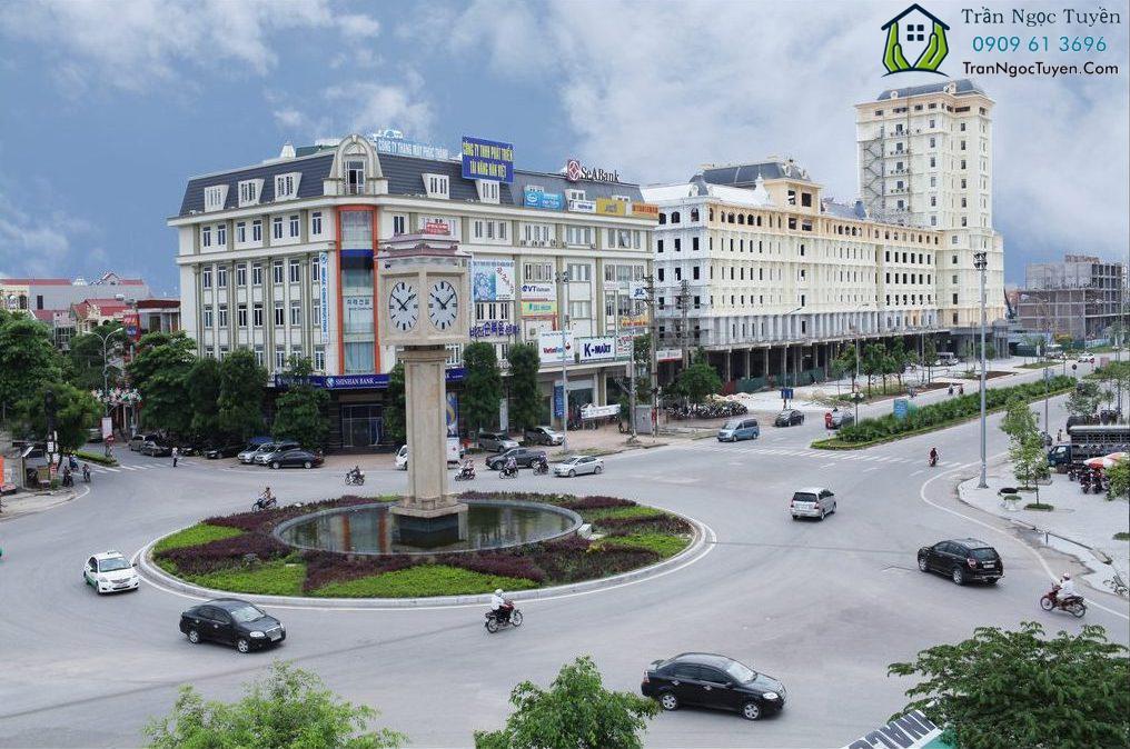 trung tâm thành phố Bắc Ninh