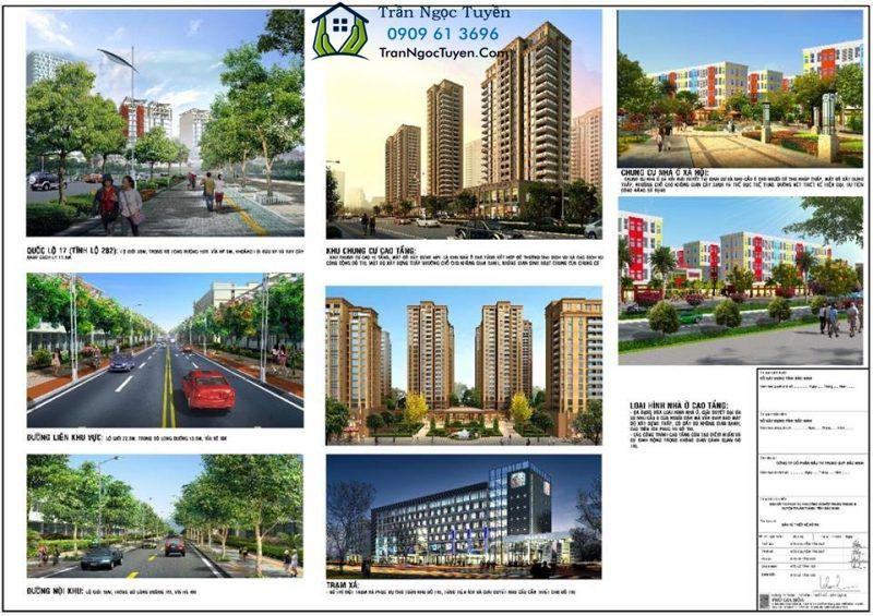 dịch vụ tiện ích trong khu đô thị Thuận Thành 3 Bắc Ninh