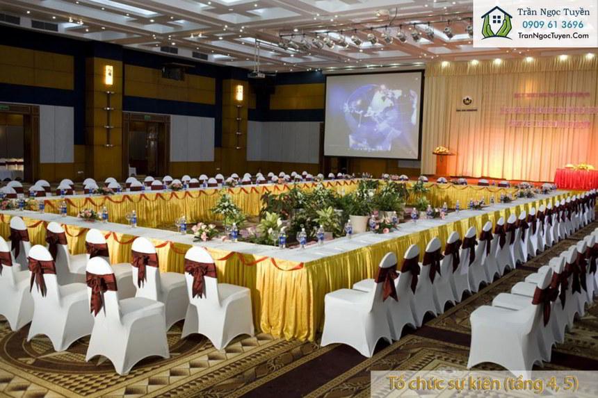 Khu tổ chức sự kiện ở tầng 4,5 chung cư Lộc Ninh SingaShine