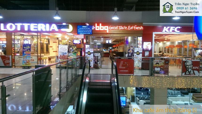Khu trung tâm thương mại, ẩm thực tại chung cư Lộc Ninh SingaShine
