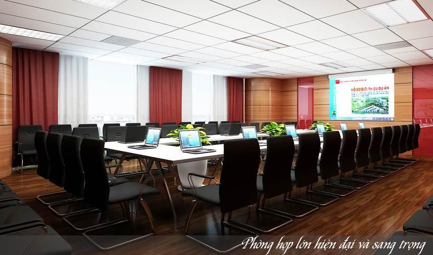 Khu phòng họp sang trọng và hiện đại