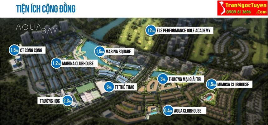Aquabay Ecopark - dịch vụ tiện ích