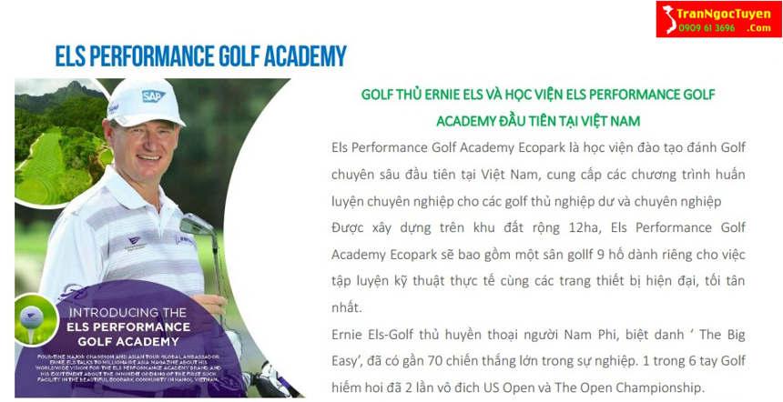 Học viện ELS Performance Golf Academy Ecopark