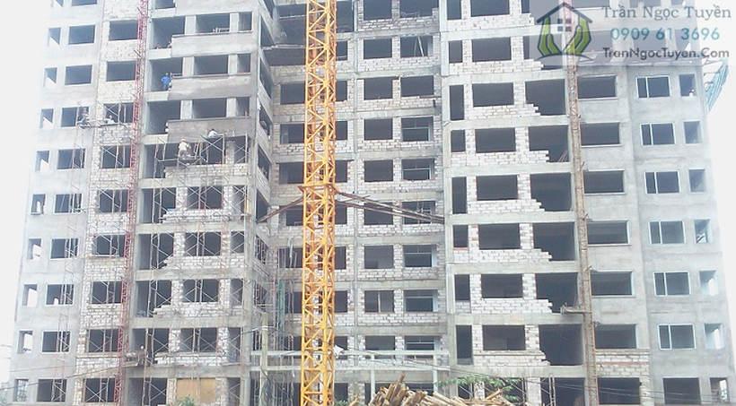 gạch bê tông khí chưng áp aac xây dựng chung cư
