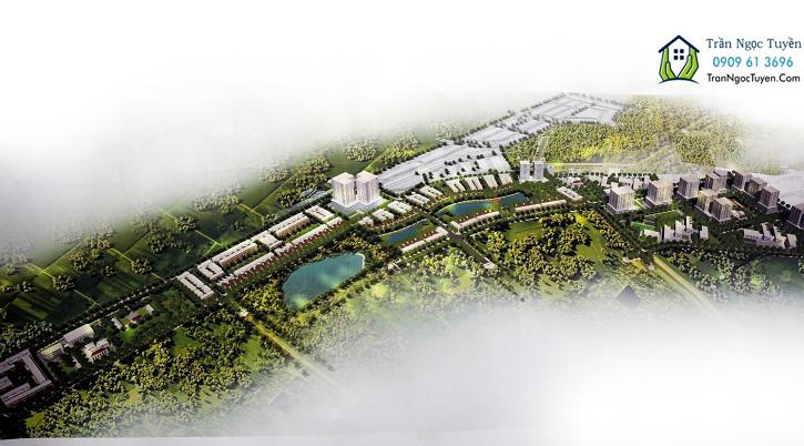 Phối cảnh khu đô thị mới Bắc Lãm, Phú Lương