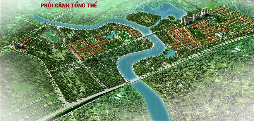 River Silk City Phối cảnh tổng thể