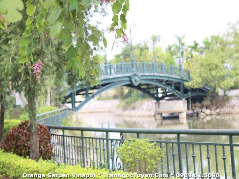 Dự án Vườn Cam đã cơ bản xong cơ sở hạ tầng và cảnh quan