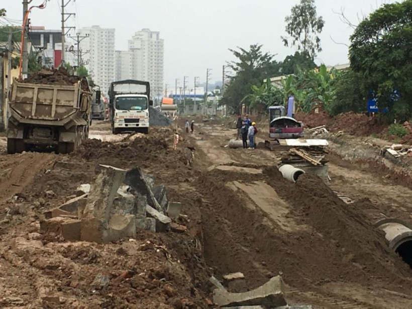 Đường Lại Yên An Khánh T1/2016