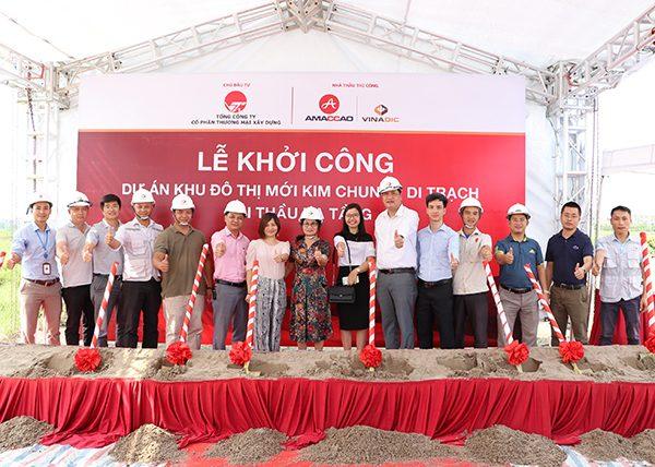 Lễ khởi công Khu đô thị Hinode Royal Park Kim Chung Di Trạch
