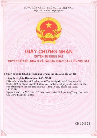 sổ đỏ liền kề Hà nội Starlight City Hanssip Phú Xuyên