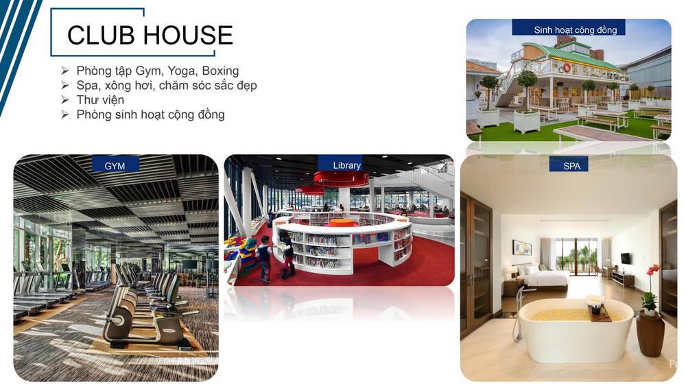 Club house gồm nhiều dịch vụ trong khu Felicity Uông Bí