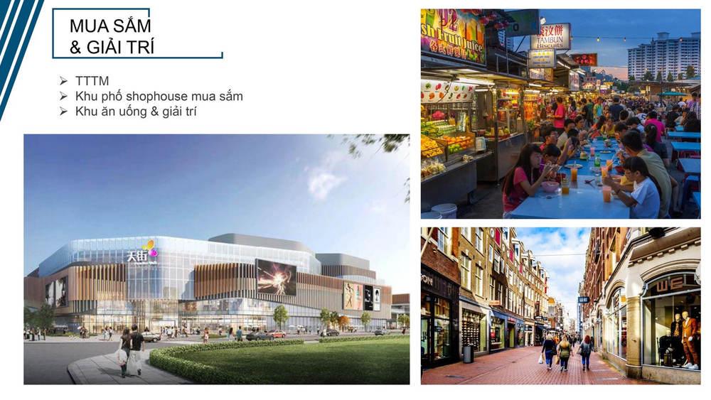 Felicity Uông Bí khu vực mua sắm và giải trí