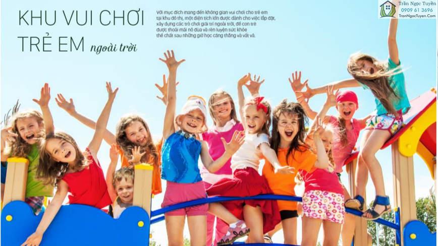 khu vui chơi giải trí ngoài trời tại FLC Tropical City Hạ Long