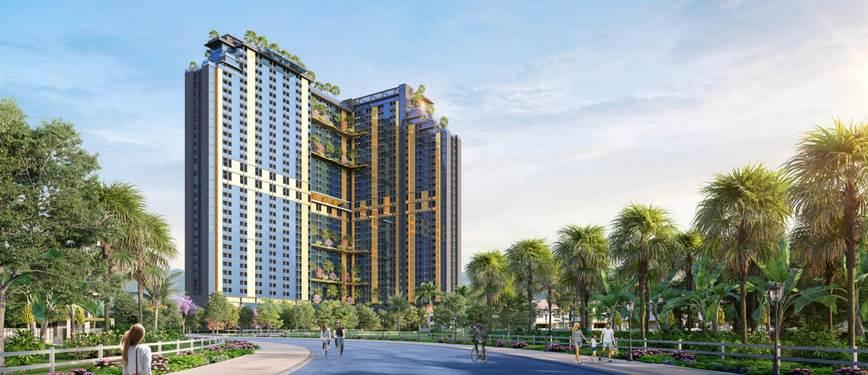 Khu căn hộ khách sạn Wyndham Thanh Thủy - Phối cảnh