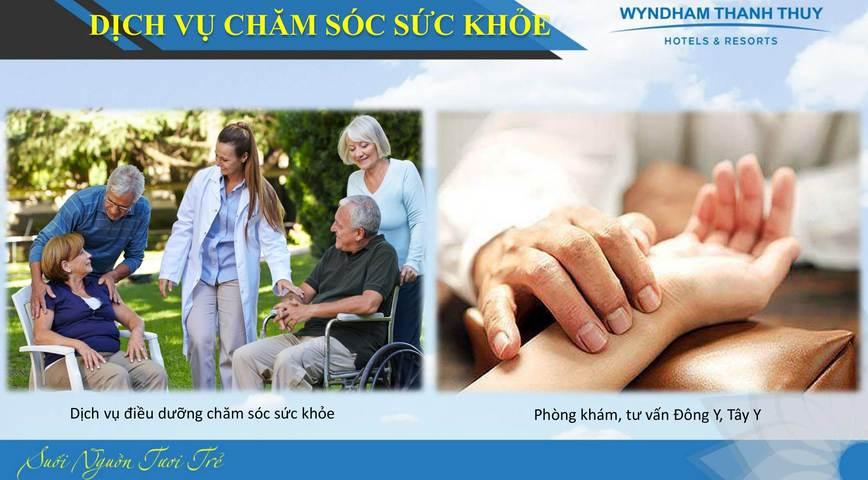 Dịch vụ chăm sóc sức khỏe tại Wyndham Thanh Thủy
