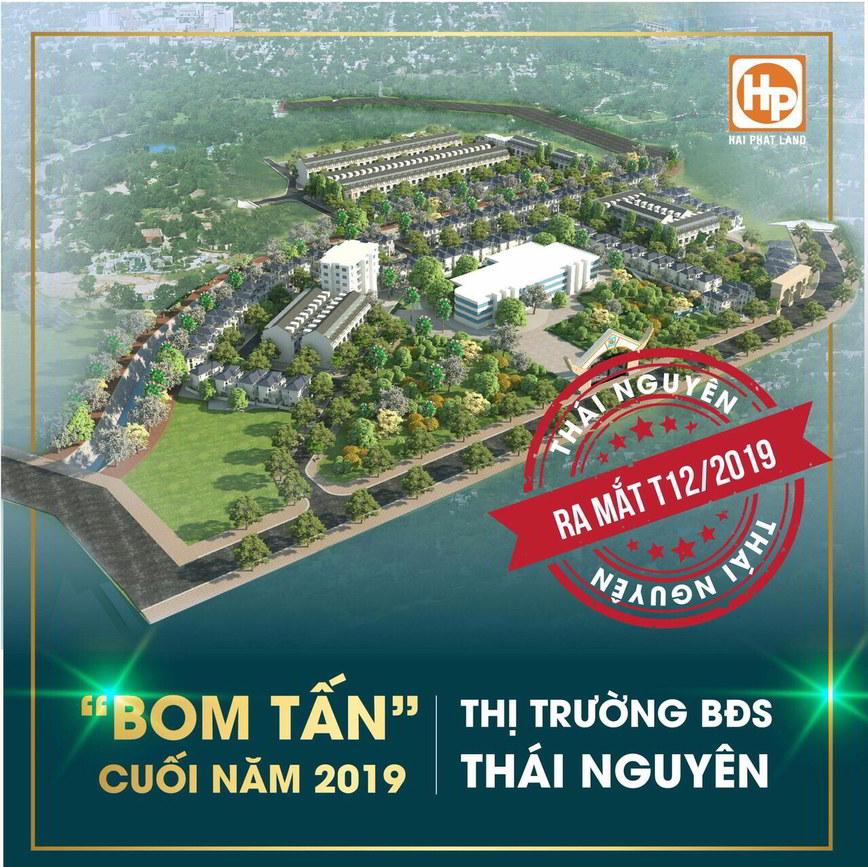 Hải Phát Land mở bán đất nền dự án Mỏ Bạch Central Hills Thái Nguyên