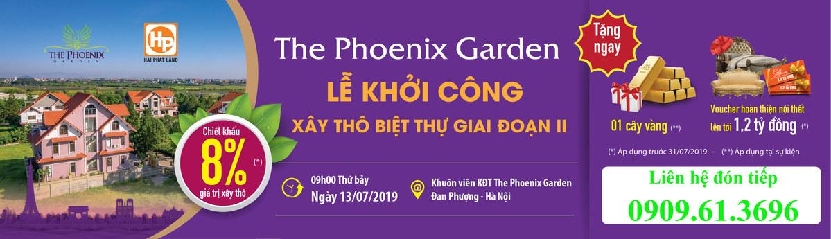 lễ khởi công xây dựng biệt thự The Phoenix Garden giai đoạn 2