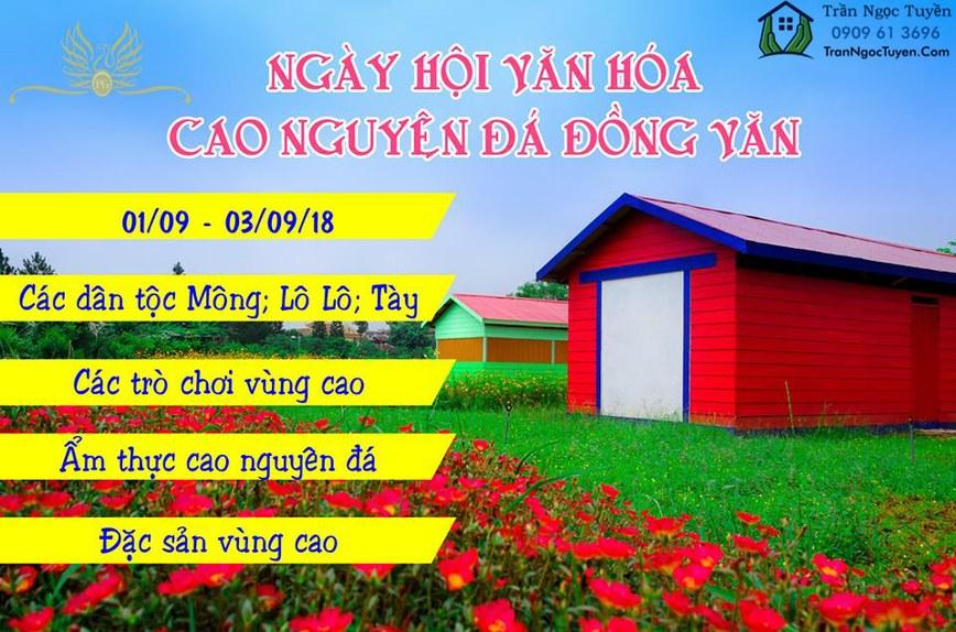 Ngày hôi văn hóa cao nguyên đá Đồng Văn