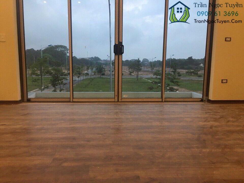 biệt thự đã xây dựng trong dự án khu nhà ở Hưng Hóa Tam Nông Phú Thọ