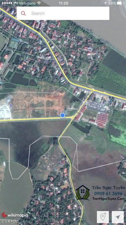 Vị trí dự án Khu nhà ở Hưng Hóa Tam Nông Phú Thọ