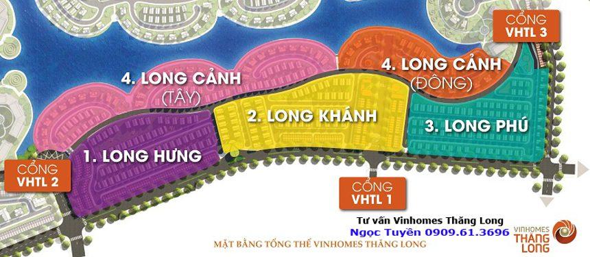 Vinhomes Thăng Long phân khu