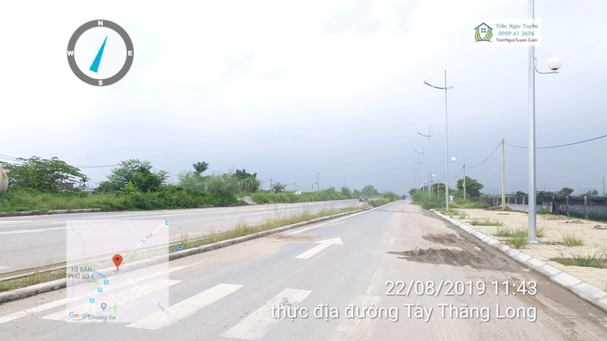Đường Tây Thăng Long thực địa tháng 8/2019