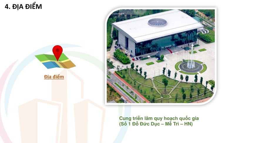 Lễ hội bất động sản - Địa điểm tổ chức