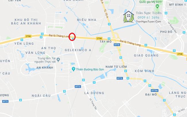 Nút giao đường vành đai 3.5 và đại lộ Thăng Long